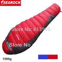 Hot Sale Brand Searock Autumn Winter -25 degrees Duck Down Sleeping Bag Ooutdoor Camping Ultralight Mummy Sleeping Bag 1500g