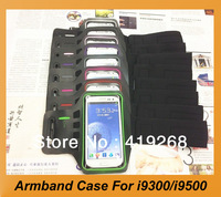 New Arrival Sport Armband Case With Spot pattern For Samsung I9300,I9500 Multiple Color Gym armband CaseFor S4,S3.Free Shipping