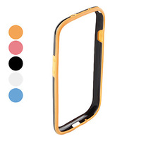 Soft TPU Bumper Frame Case for Samsung Galaxy S3 I9300 Free Shipping(Assorted Colors)
