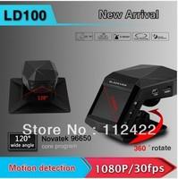 "LD100 Car DVR Full HD 1920*1080P 30fps IR Night Vision 2.0"" LCD with G-sensor Car perfume camera freeshipping"