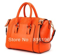 Free shipping New Lady PU Leather Tote Handbag Business Messager handBag shoulder bag