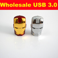 Ironman Pen Drive Usb Flash Drive 2 GB 4GB 8GB 16GB 32GB Usb 3.0 Violin Usb Helloween Season Portable Usb  Drive