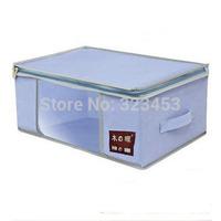 Free Shipping Nonwoven Fabric clothing Storage bag Unwoven Organizer bin 28L 36L 40L 63L 80Lpink Blue