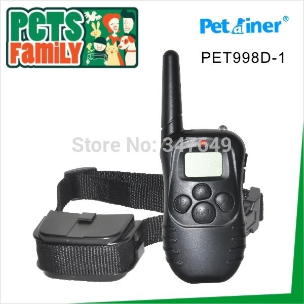 New LCD Remote Control 100LV Shock + Vibra Remote Electric Dog Training Collar(China (Mainland))