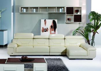 2014 new designs modern leather corner sofa LBS furniture