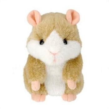 Hot Cute Speak Talking Sound Record Hamster Talking Plush Toy Animal T0256