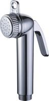 Chrome ABS Hand Held Shower Head Bidet Toilet Sprayer