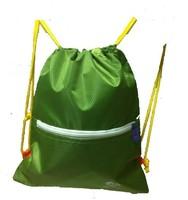9.9 simple school bag drawstring bag tote portable double-shoulder male women's dual-use handbag tote
