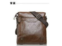 Exempt postage new brand men's single shoulder bag, inclined shoulder bag, leather han edition business men's bags
