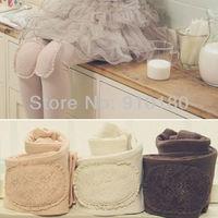 Wholesales 5pcs/lot 2014 new korean style baby girls fleece warm leggings kids pants children's winter pantyhose trousers