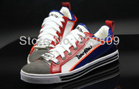 2013 New Arrival England Style Men's Sneakers Casual Sports Shoes Mixed Colors Red And Blue Free Shipping