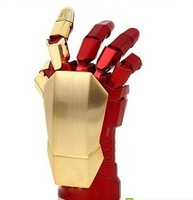 2013 limited edition The avengers Iron Man 3 left hand LED USB Flash Drive 1GB 8GB 16GB 32GB Free Shipping Pen Drive Gift