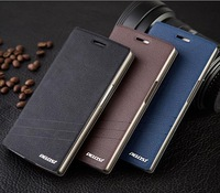 Nillkin Fresh side flip Leather Case For  ZTE  V967S , free shipping