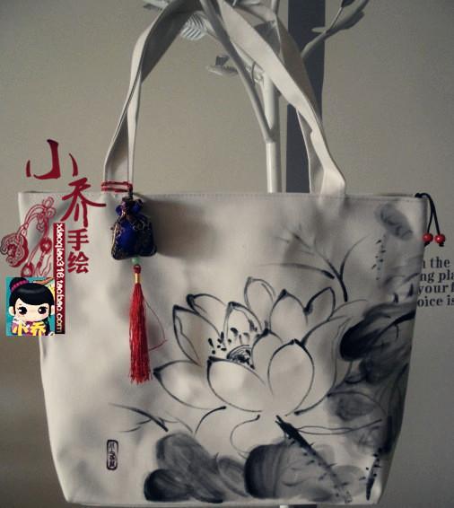 Fashion Designer Branded Women's Messenger Bags Print Vintage Canvas Bags Ladies Handbags big Totes Ethnic Shoulder bag Hotsale(China (Mainland))