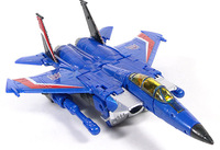 Free shipping Thundercracker Starscream airplane robots birthday gift G1 classic toys for boys action figures 17CM with box