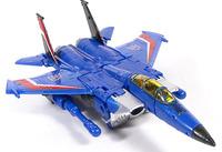 Free shipping Thundercracker Starscream airplane robots birthday gift G1 classic toys for boys action figures 17CM with box
