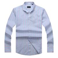 2013 Fashion Men's stripy shirt  long sleeve Classic business Formal shirts for men Free shipping