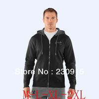 chaqueta wholesale 2013 spring autumn The new men's sports jacket hooded jacket men outwear black coat
