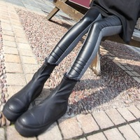 Before Ms. Slim Faux Leather tide cotton outer wear pantyhose sub-thin models in leather leggings fight