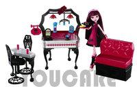 Y7719  Original Monster High Monster HighDraculaura Playset and Doll, Monster High dolls plastic toys Best gift  Freeshipping