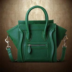 7 Colors! Crossbody Shoulder Tote Bag New Women Luxury Classic Designer Inspired Celebrity Leather Smile Face Smiley Handbag(China (Mainland))