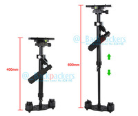 Mini Handheld stabilizer 40cm-60cm For Professional Camcorder DV Video Camera DSLR movie Kit Free shipping by EMS