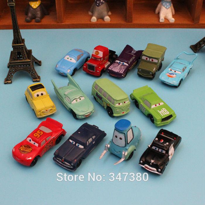 Free Shipping NEW 14 pcs/set Action Figures Pixar Car Figures Full Set Roadmaster Retail Kids Boys Birthday Gift(China (Mainland))