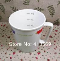 Wholesale Zakka Animal Ceramic Mug Graduated Coffee Cup Enjoy Life