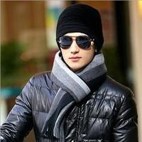 men scarf, men winter scarf, men knitting scarf, men classical scarf, free shipping M701301