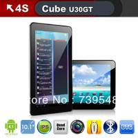 Cube U30GT 10.1 Inch dual core android 4.1  tablet pc RK3188 1.8GHz 1GB 16GB Bluetooth HDMI Dual camera WIFI