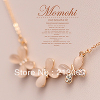 - eye butterfly short necklace female short design chain fashion