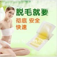 2013 Hot Hair Removal Depilatory Nonwoven Epilator Wax Strip Paper Pad Patch Waxing For Face / Legs / Bikini