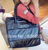 Women's handbag 2013 fashion cotton-padded jacket bag sponge bag down coat bag space bag  Free shipping