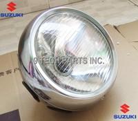 E-MARK OEM QUALITY SUZUKI GN250 GN 250 HEADLIGHT / HEADLAMP UNIT COMPLETE / FRONT HEAD LIGHT LAMP