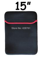 "Free shipping 15 ""Diving Material SBR Bag Black Waterproof Bag Notebook Computer Tablet Computer Bladder Bag"