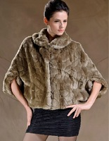 Free shipping, 2014 autumn and winter imitation mink waistcoat the cape outerwear quinquagenarian women's / Q003