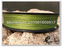 Free Shipping  PE Braid  4 strands 8lb------80lb  150 yards dyneema fishing line grass green