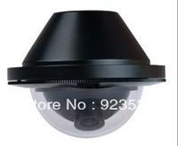 1/3 color CMOS 600TVL Bus Waterproof IR Audio Mini Dome CCTV Camera