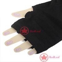 [Hot] Arm Warmers Long Gloves Fingerless Mittens Funk Black wholesale