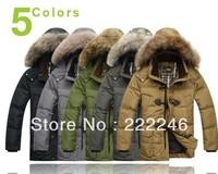 New 2013 casual winter jacket men outdoor jacket men's winter jacket goose down jacket for men winter coat men,298