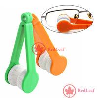 [Hot] Mini Sun Glasses Eyeglass Microfiber Brush Cleaner New wholesale