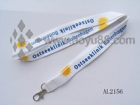 polyester  lanyard for Halloween promotion base1