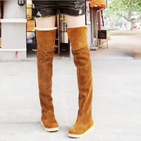 2013 Winter Hot Selling Autumn and Winter Boots Snow Boots Women's High Plush boots Over Knee Boots Free Shipping MS0066