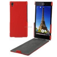 Litchi Texture Vertical Flip Leather Case for Sony Xperia Z1 / L39h / Honami / C6902 / C6903 / C6906 / Xperia i1