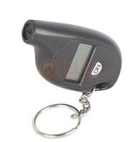 Retail 1PC/Lot New Mini Keychain Digital Car LCD Tyre Tire Pressure Tester Gauge