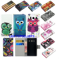 Good Quality Wallet With Stand Flip Leather Phone Cover  Huawei Ascend Y300 case huawei y300 case U8833 cover