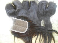 Lace Top Closure 3.5x4 Brazilian Straight Hair Closures Virgin Brazilian Lace Part Closure Bleached knots Middle Part Hair piece