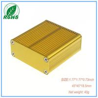 XDM05-38 aluminium enclosure for amplifier enclosure 45*45*18.5mm 1.77*1.77*0.73inch