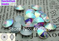 100pcs/lot Crystal AB Rivoli Crystal,8MM 10MM 12MM 14mm 16mm 18mm  Chinese Top Quality Round Fancy Stone Crystal Rivoli