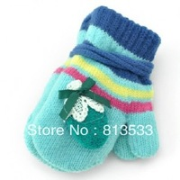 Warm Children's Gloves  Winter Gloves  Free Size Random Color Random Style 2-5 Years Old Girls Boys Gloves